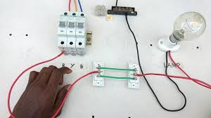two way switch connection type 1 electrical videos in tamil two