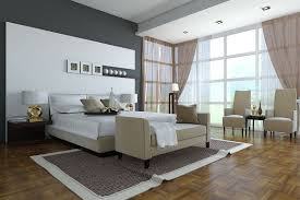 simple master bedroom ceiling lighting ceramics flooring large