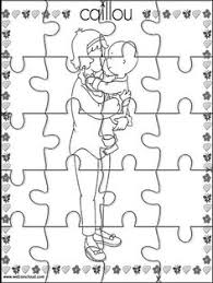 caillou printable coloring pages sesame street blues clues