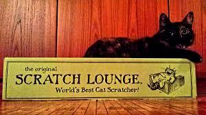 Cat Scratch Lounge Tortoise Shell Cat On Scratch Lounge Cat Scratcher U2013 Visions By Janet