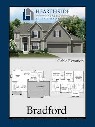 bradford floor plan hearthside homes floor plans homestead of liberty