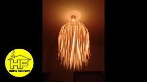 easy fancy chandelier diy youtube