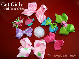 wee ones hair bows get girly with wee ones