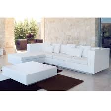vondom vela outdoor sectional sofa patio furniture set