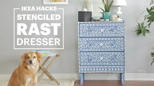 how to ikea hack a rast dresser bone inlay u0026 happy modern