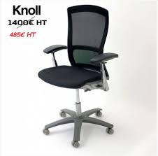 fauteuil de bureau knoll fauteuil knoll