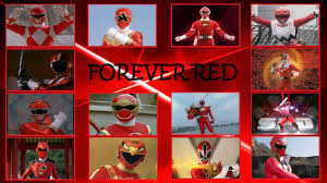 red red power rangers history 1993 2014