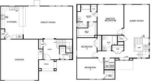Single Family Floor Plans Ambridge Cove Model Floor Plan 2194 Single Family Home By Kb Homes