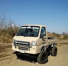 subaru lift kit japanese mini trucks custom 4x4 off road mini hunting trucks