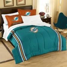 Bedroom Sets Miami Nfl Miami Dolphins 5 Pc Bed In A Bag Bedding Set By Store51