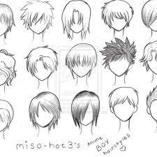 for drawing short hair hair x