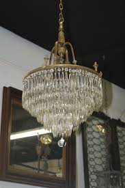 Florian Crystal Chandelier Antique Chandeliers For Sale Otbsiu Com
