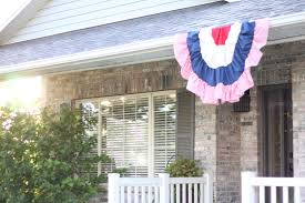 American Flag House Do It Yourself Divas Diy Semi Circle American Flag