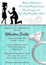 what do you put on a bridal shower registry he put a ring on it bridal shower invitation turquoise blue