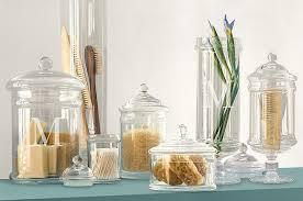 bathroom apothecary jar ideas tuesday s tips apothecary jars as chic storage 4 kitch bath