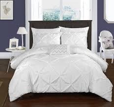 Organic Cotton Pintuck Duvet Cover Shams Queen Duvet Cover Sets Wayfair Intended For Amazing House Queen