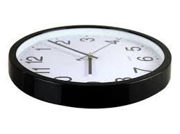 amazon com bekith 12 inch silent non ticking wall clock black