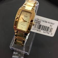 Jam Tangan Casio Gold jual jam tangan casio original wanita ltp1165n9 murah