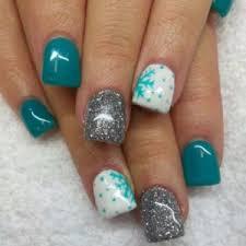 winter nail arts designs 15 nails pinterest winter nail art