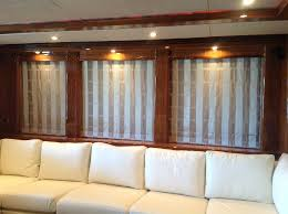 blinds boat curtain nautical window treatments boat decorating