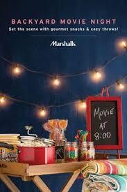 Backyard Movie Night The Htg Guide To Throwing A Backyard Movie Night Entertaining