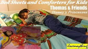 thomas u0026 friends disney princesses bed sheets and comforters