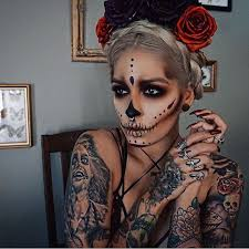 Beautiful Halloween Costumes 25 Skeleton Makeup Ideas Pretty Skeleton