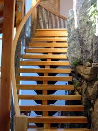 Glass Stair Rail by Stairs Modern Stair Railing Glass And Steel Staircase Railing