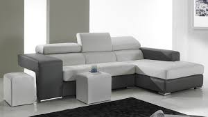 canapé d angle haut de gamme canapé d angle en cuir noir et blanc pas cher canapé angle design