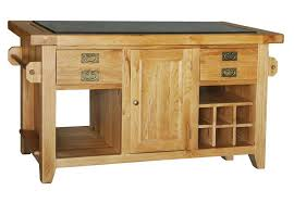oak kitchen island units provence oak granite top kitchen island unit