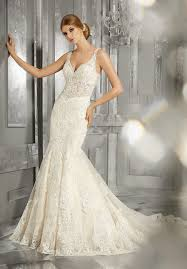 fit and flare wedding dress morilee 8192 maggie soft lace tank fit flare wedding dress