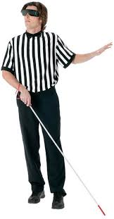 referee costume blind referee costume costumes