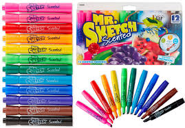 4 03 mr sketch scented markers only 0 34 each