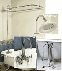 Convert Bathtub Faucet To Shower Clawfoot Tub Showers Add A Shower To A Clawfoot Tub Faucet