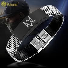 titanium steel bracelet images Watchdog game watch dogs 2 metrosexual titanium steel bracelet jpg