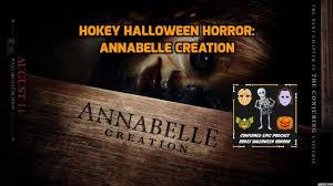 halloween horror nights confirmation email confirmed epic podcast hokey halloween horror annabelle creation