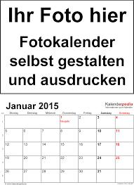 Kalender 2018 Gestalten Kostenlos Fotokalender 2015 Als Pdf Vorlagen Zum Ausdrucken Kostenlos