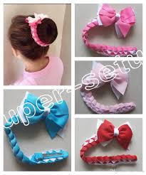 hair bows for sale popular hairwear hair bun wraps boutique hair bows