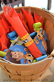my son u0027s toy story birthday party the cards we drew