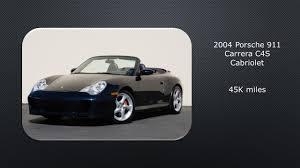 porsche 964 cabriolet for sale for sale 2004 porsche 911 carrera c4s cabriolet 45k miles