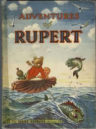 rupert bear painting alfred bestell rupert bear