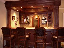 interior modern basement bar with regard to marvelous modest