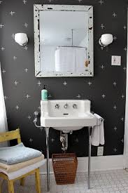 home design cheerful and fun yet simple bathroom design with