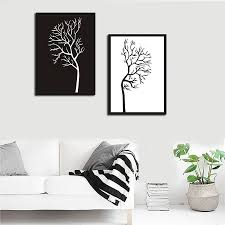 Nordic Home Decor Popular Black Art Picture Buy Cheap Black Art Picture Lots From