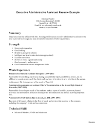 executive assistant resume exles confortable resume keywords for office assistant your executive of