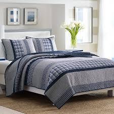 Nautica Duvet Bedroom Queen Nautica Quilts Set For Navy Bedroom Bedding