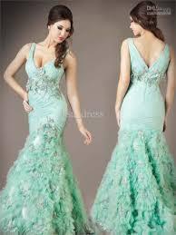mint green cheap prom dresses dress on sale