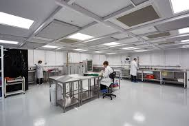 new high specification clean room for william hughes william hughes