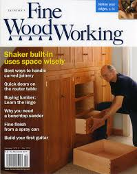 Woodworking Magazine by Table Portman Workshop