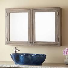 36 bathroom cabinet 36 doba teak medicine cabinet gray wash bathroom